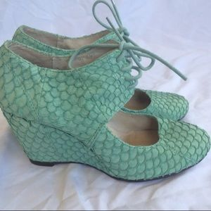 Anthropologie Wedges